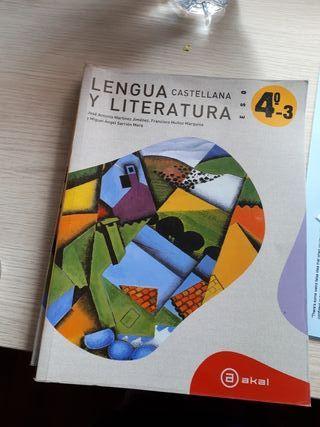 Libro de texto Lengua Castellana y Literatura 4