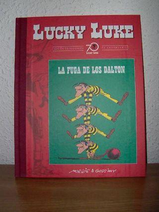 Lucky Luke (70 aniversario): La fuga de los Dalton