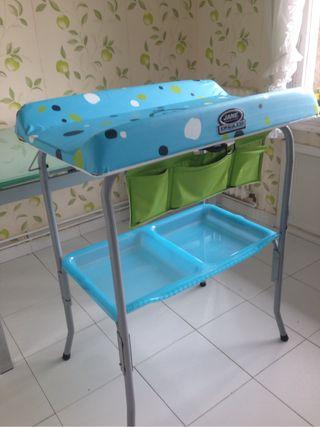 Cambiador bañera bebe