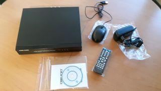 DVR Grabador de video 1 TB disco duro. Nuevo
