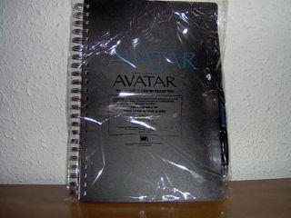 Libreta Avatar con boli (producto oficial)