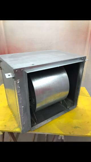 Extractor turbina caja