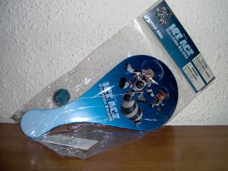 Paleta ping-pong Ice Age 5 (producto oficial)