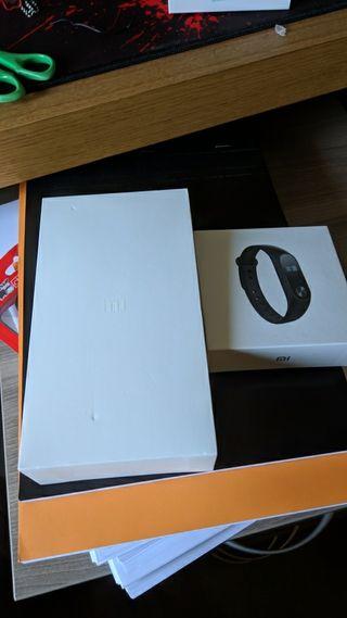 Xiaomi Mi5s + Mi Band 2 + belt