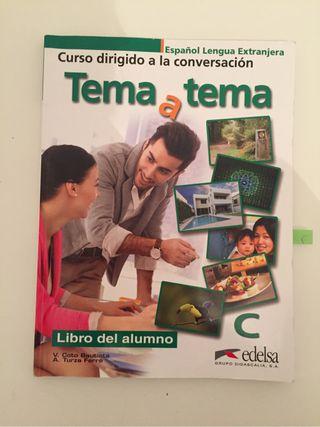 Tema a tema C, libro de españo