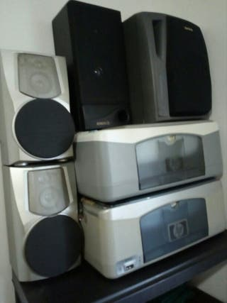 2impresoras HP + 4 altavoces