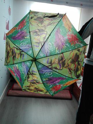 lote de 2 paraguas niño