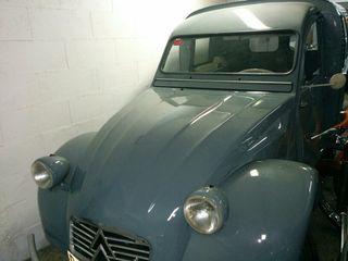 citroen 2cv azu furgoneta 1963 6v