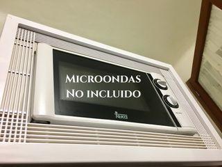 Marco para empotrar microondas