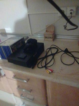 PlayStation 2+lote de juegos
