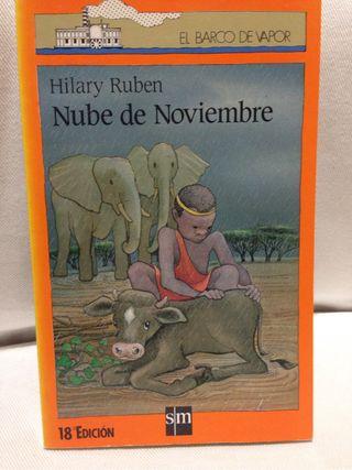 """Libro """"Nube de Noviembre"""""""