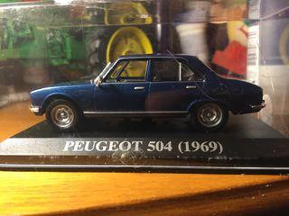 Peugeot 504 1/43 altaya