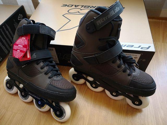 patines en línea rollerblade metroblade t 44 de segunda mano por