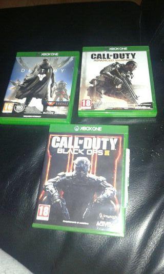 Lote 3 Juegos Xbox One