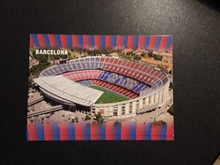 postales camp nou fc barcelona