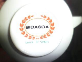 Bidasoa porcelana, juego de cafe