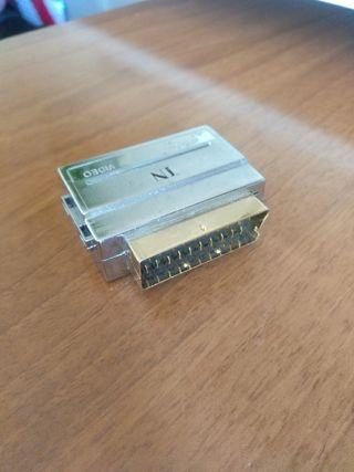 Adaptador RCA euroconector