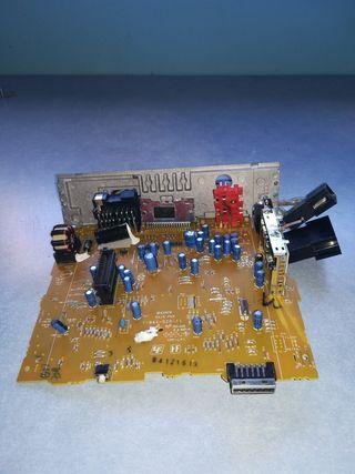 placas con componentes