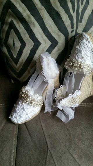 zapatillas ceremonia