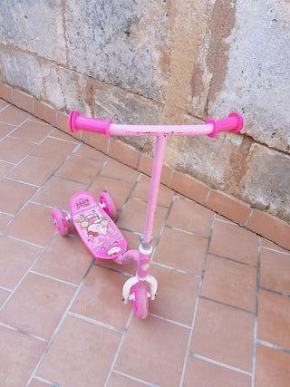 patin tres ruedas niña