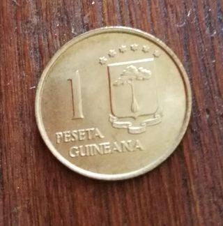 1 peseta 1969 Guinea Ecuatorial