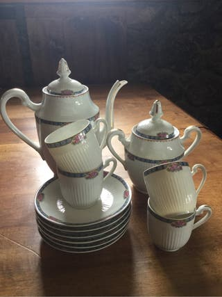 Juego te porcelana Limoges