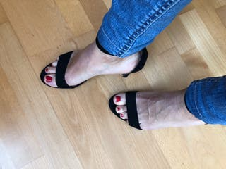 Zapato negro H&M 39