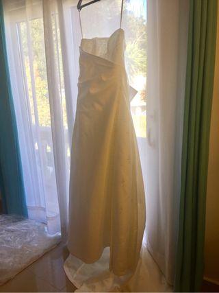 Vestido espectacular de novia