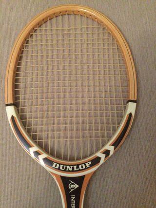 Raqueta tenis madera Dunlop