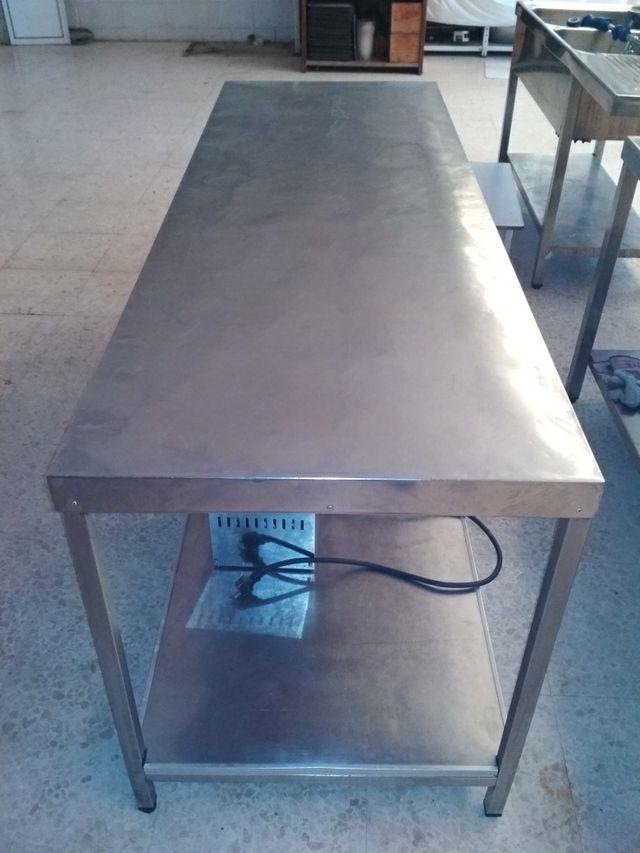 mesa trabajo industrial 2m