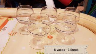 5 vasos
