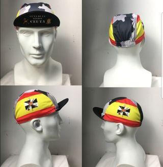 gorra bajo casco válida para trail