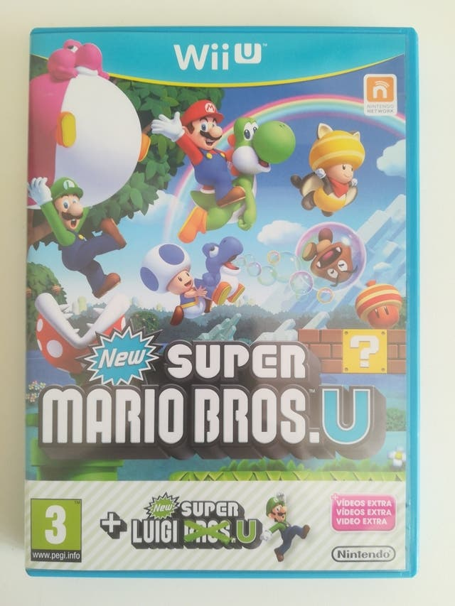 Juego Wii U New Super Mario Bros U De Segunda Mano Por 19 En
