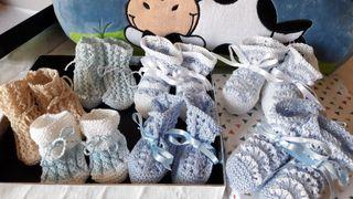 Patucos de ganchillo/ Crochet para bebés.