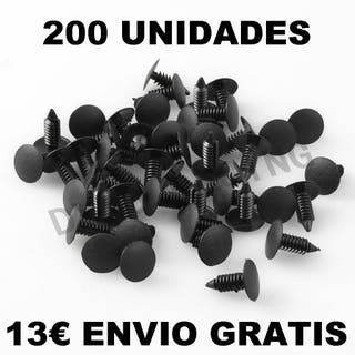 LOTE 200 TORNILLOS CLIPS FORD CHRYSLER