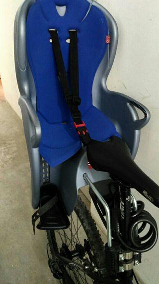 silla de bici niño