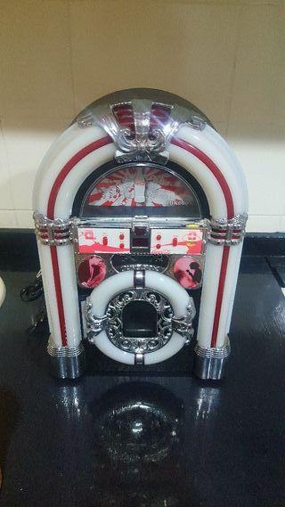 Jukebox Cocacola con - CD/Radio y Aux