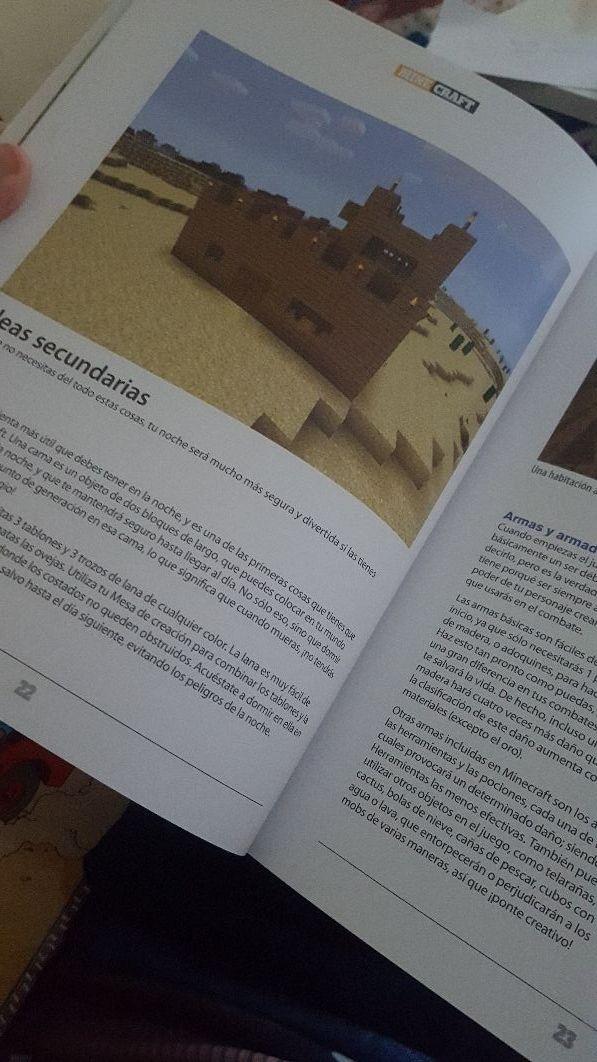 Libro Minecraft de segunda mano por 7 € en Tona - wallapop
