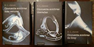 Trilogía Cincuenta Sombras de Grey Tapa Dura