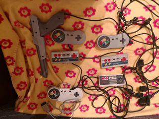 mandos de Nintendo nes