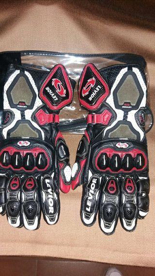 guantes moto nuevo sin usar