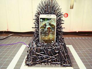 trono de hierro miniatura