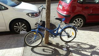 Bicicleta plegable sin cambio de marchas