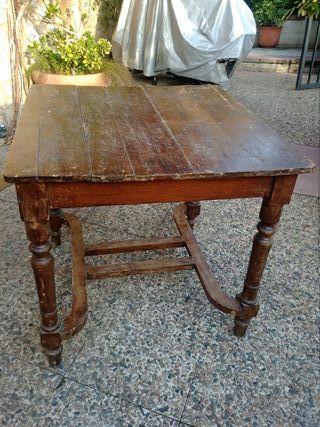 Mesa antigua cocina de segunda mano en la provincia de Barcelona en ...