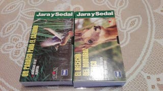 JARA Y SEDAL 2 CINTAS VHS