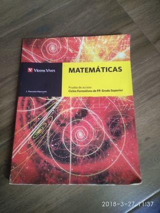 libro de matemáticas Vicens Vives