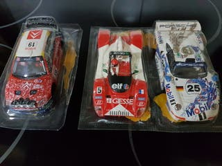 lote carrocerias scalextric en blister