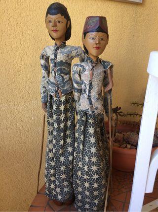 Antiguas marionetas indonesia