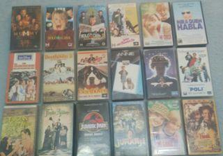 lote peliculas VHS originales Disney