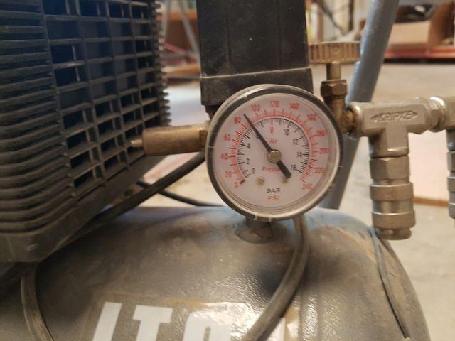 Compresor aire portatil Abac